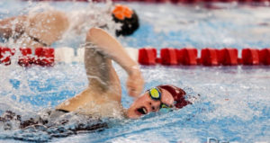 Swimming to Success: Anna Olson '22 uses swimming as lesson for life.