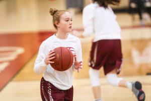 Anna Harvey Journey to Division I Basketball
