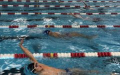 Boy's Swimming Has A Strong First Half