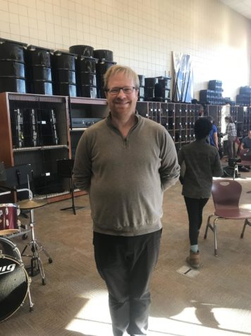 New Band Director Mr. Castonguay Brings A New Tone to the LSHS Band