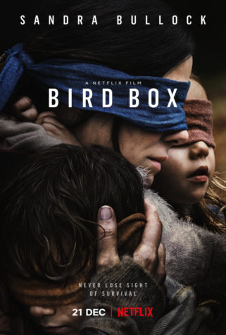 "Netflix's ""Bird Box"" Promotes Scares and Stunts"